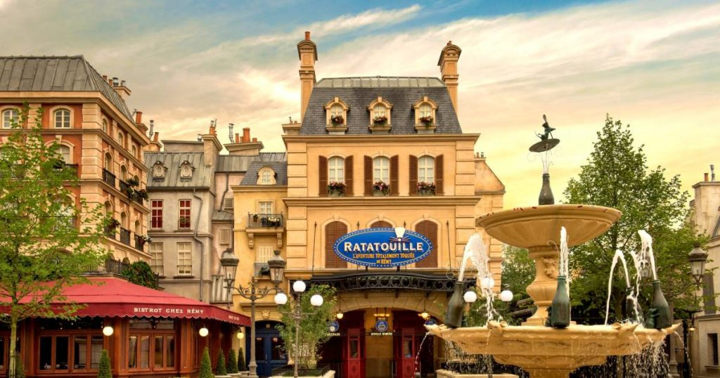 Disneyland Paris brings together all the attractions of Pixar in a new themed area    showbiz