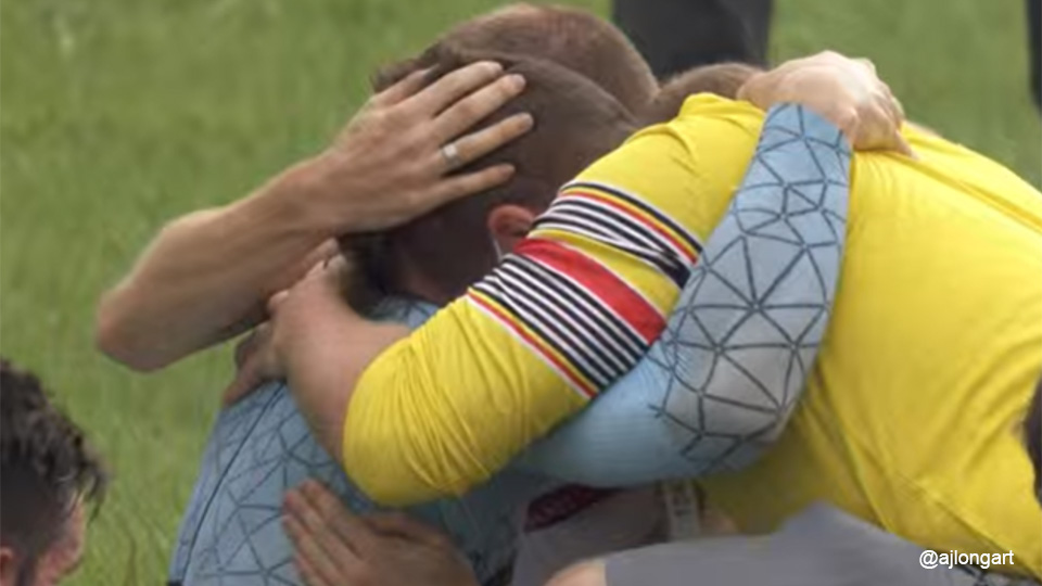 Ewoud Vromant wins silver in time trial despite mechanical failure |  Games for people with special needs