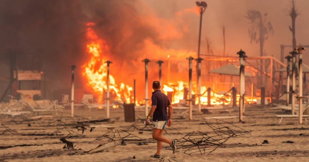 Heat and fires continue in Italy, Greece and Turkey, and a number of dead and injured |  abroad