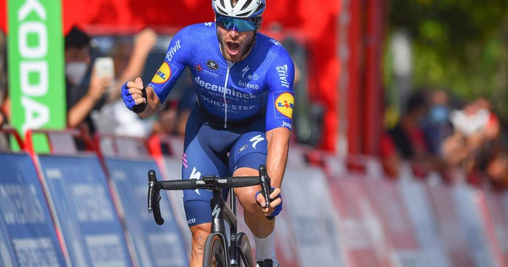 Jacobsen has to give it up, so Senchal presents another Wolfpack victory in the chaotic Vuelta aray    Vuelta