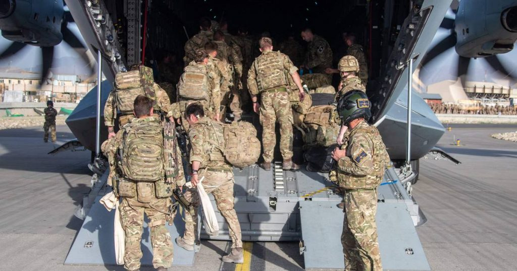 Last British soldiers leave Afghanistan |  Afghanistan in the hands of the Taliban