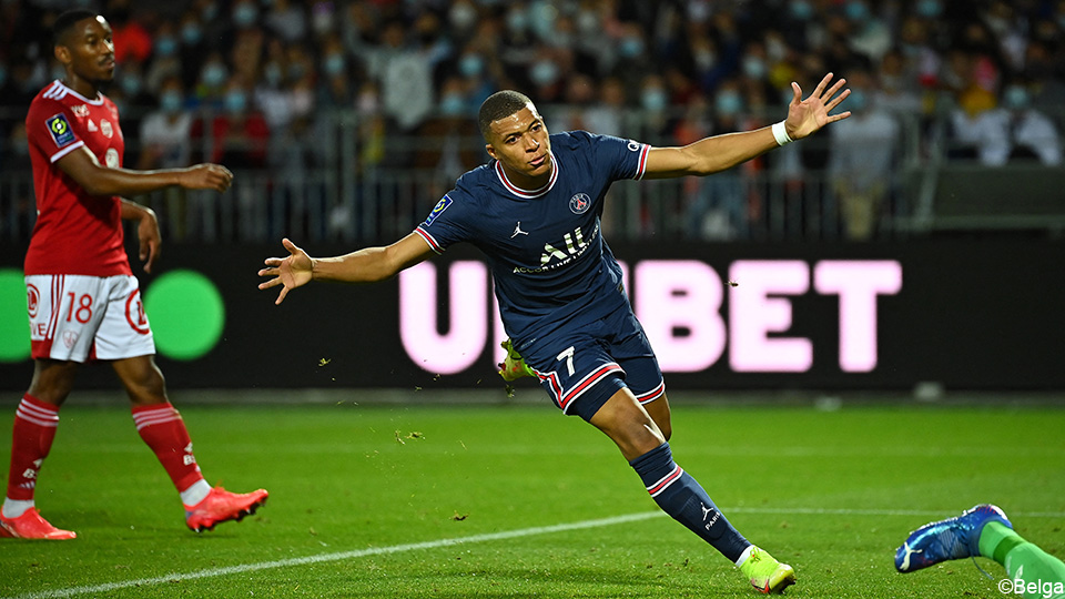 Paris Saint-Germain is not convinced but will win without Messi and Neymar from Brest    Ligue 1 Uber Eats 2021/2022