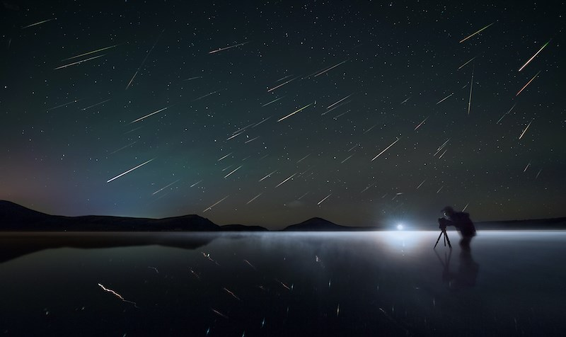 Perseid meteor shower will blind Vancouver Sky