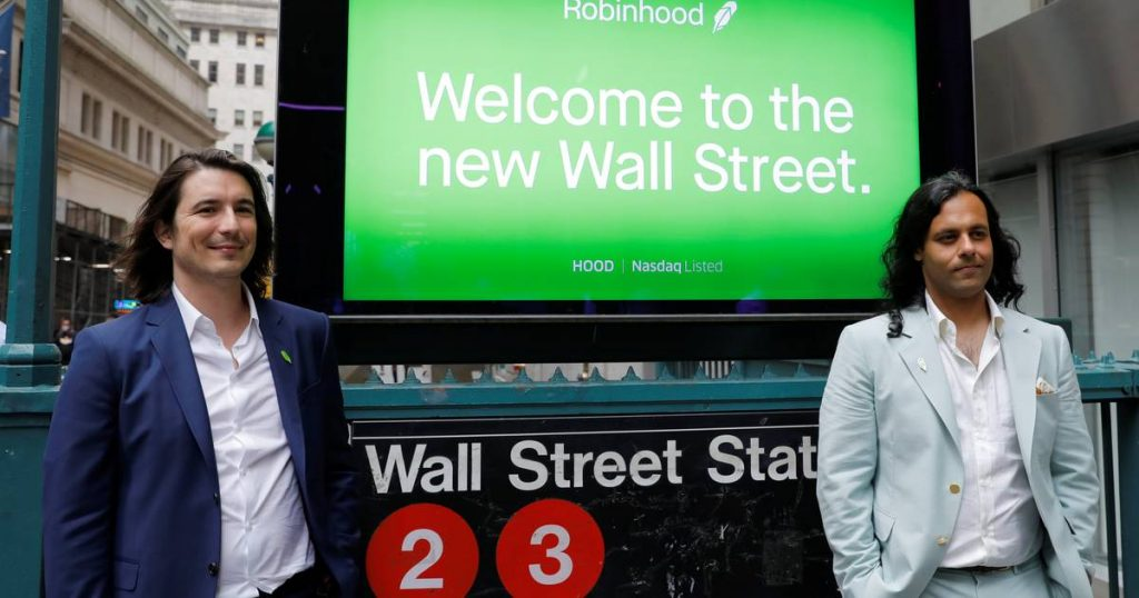 Robinhood Investment App Takes Advantage of Vibrant Cryptocurrency Trading |  Economie