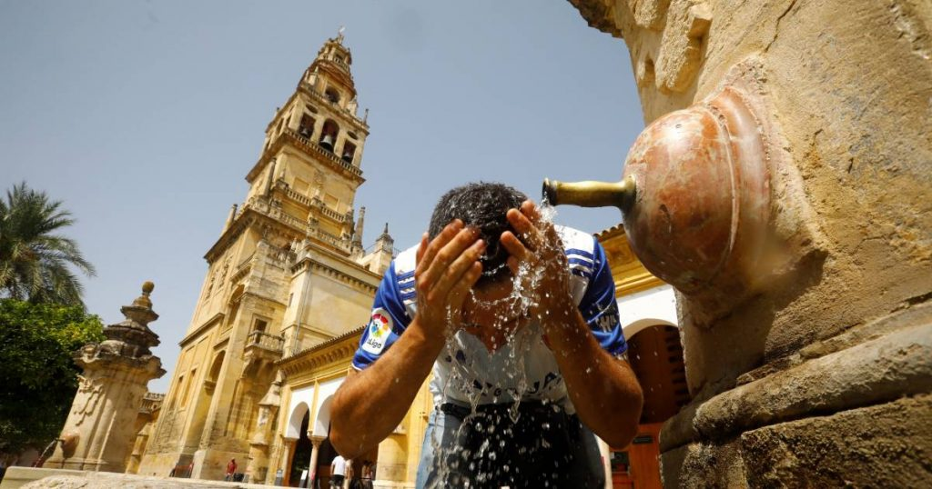 Temperature in southern Spain surges 46.9 degrees around the national heat record |  abroad