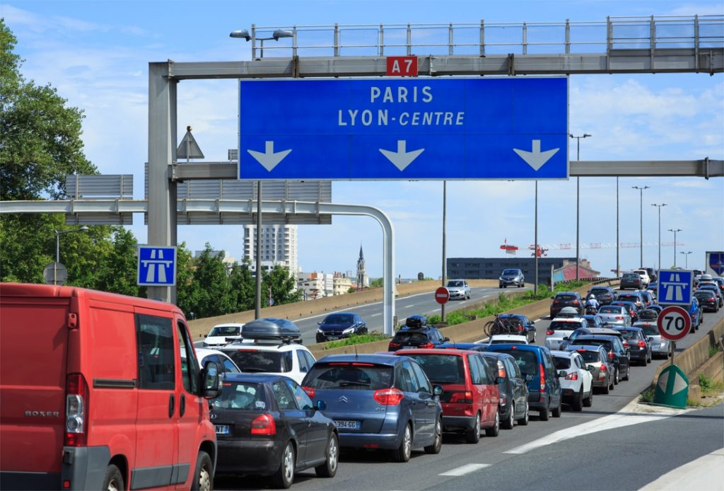 The Long Wait in France: Nearly 1,000 Kilometers of ...