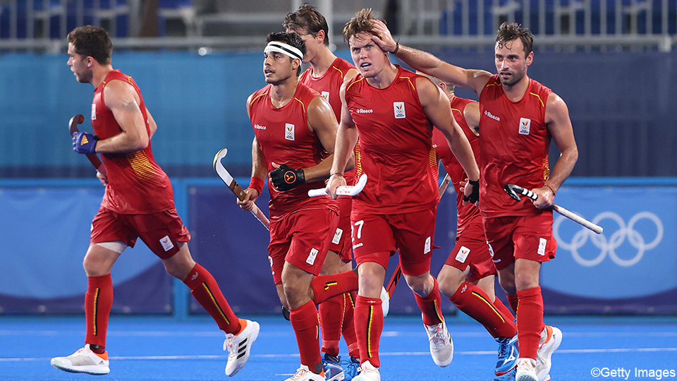 The Red Lions break through the Spanish wall only after the first half and reach the semi-finals    the Olympics