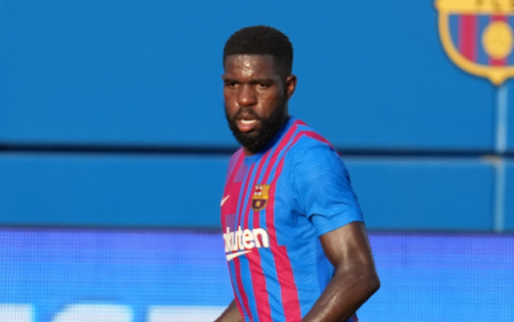 """The Spanish press is interested in Umtiti's hidden answer: space?  space in my car..."""""""
