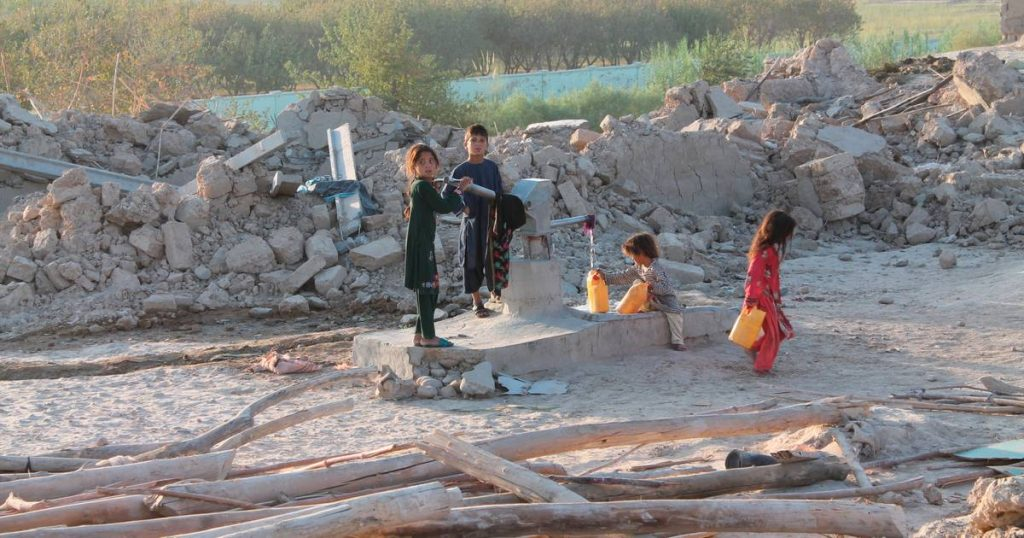"""The United Nations Food Program warns of a """"humanitarian catastrophe"""" in Afghanistan    Afghanistan in the hands of the Taliban"""