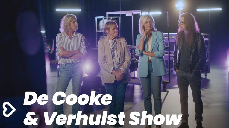 The women upstairs on the new season of The Cooke & Verhulst show...