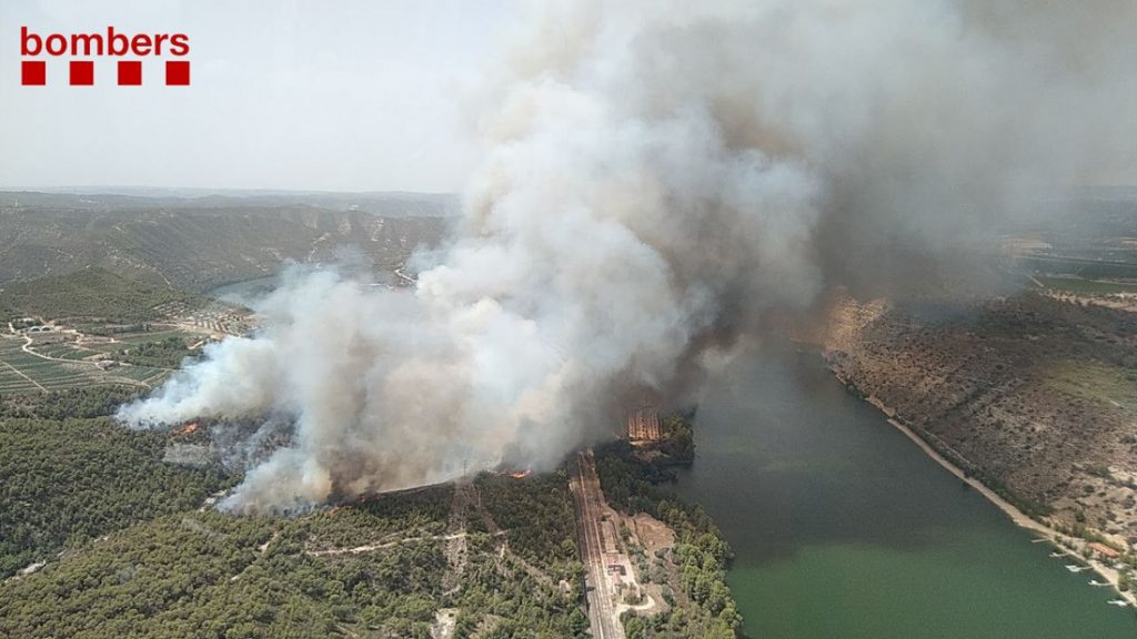 Three wildfires broke out in Spain