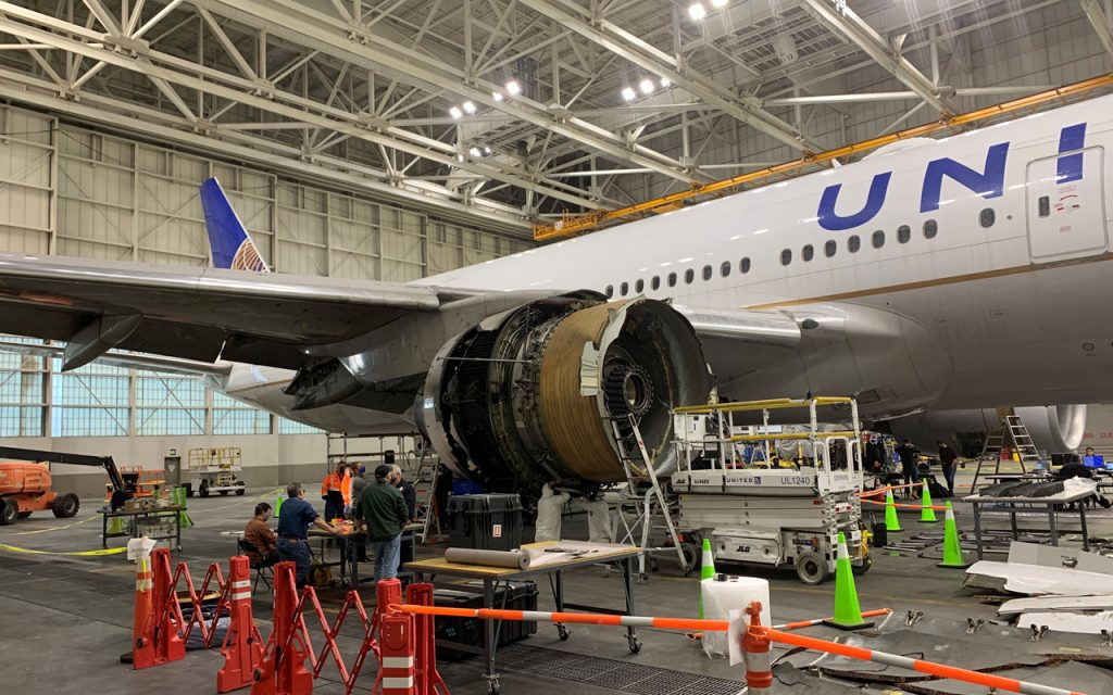 United may have to ground 52 Boeing 777s until next year