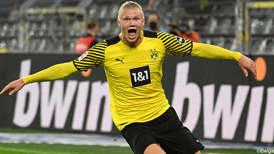 Watch: Haaland gives Dortmund victory in extra time |  German League 2021/2022