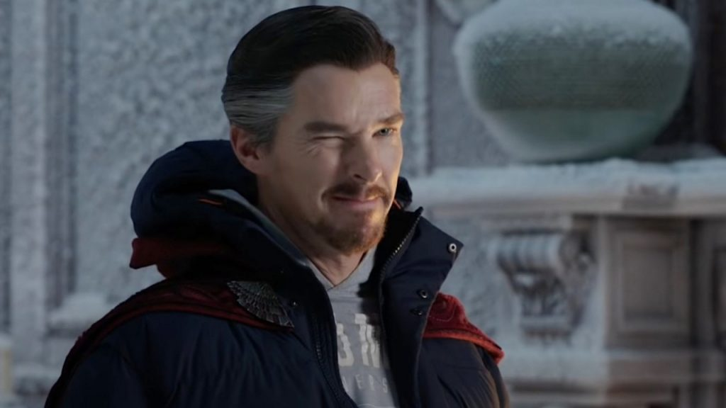 """huh?  Dr. Strange isn't in the trailer for """"Spider-Man: No Way Home""""?"""