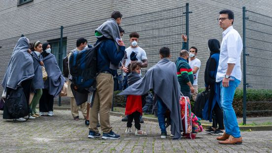 The Hague is looking for sites to receive Afghan refugees 'in the short term'