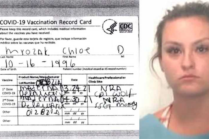Vrouw betrapt met vals vaccinatiebewijs door domme spelfout (en vliegt daarna de cel in)