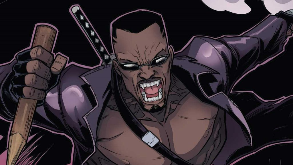 Marvel is taking big risks with the vampire movie 'Blade' according to the director