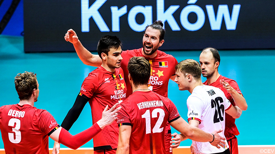 Red Dragons booked a decisive victory over Greece in the European Championship    European Volleyball Championship