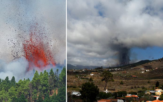 After days of seismic activity, the volcano erupted on Sunday.