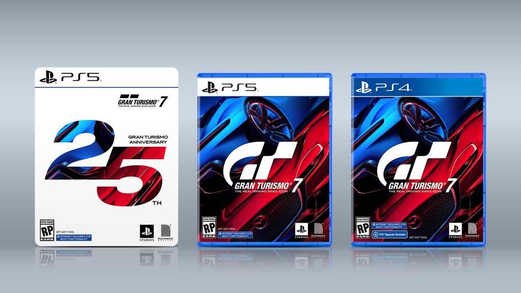 Several versions of Gran Turismo 7 have been announced