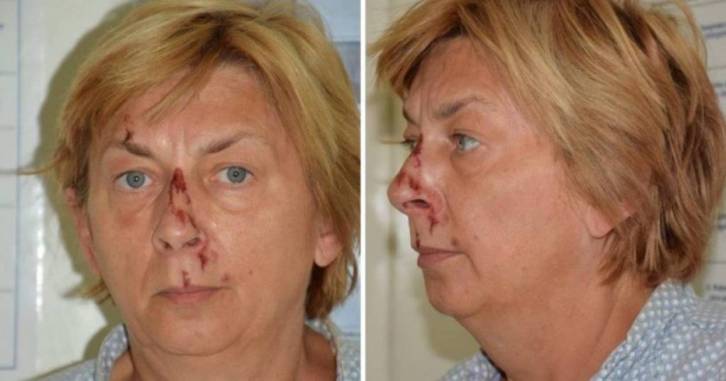 A mysterious 57-year-old woman cries on a rock in Croatia turns out to be a jewelry designer for Hollywood stars    Abroad