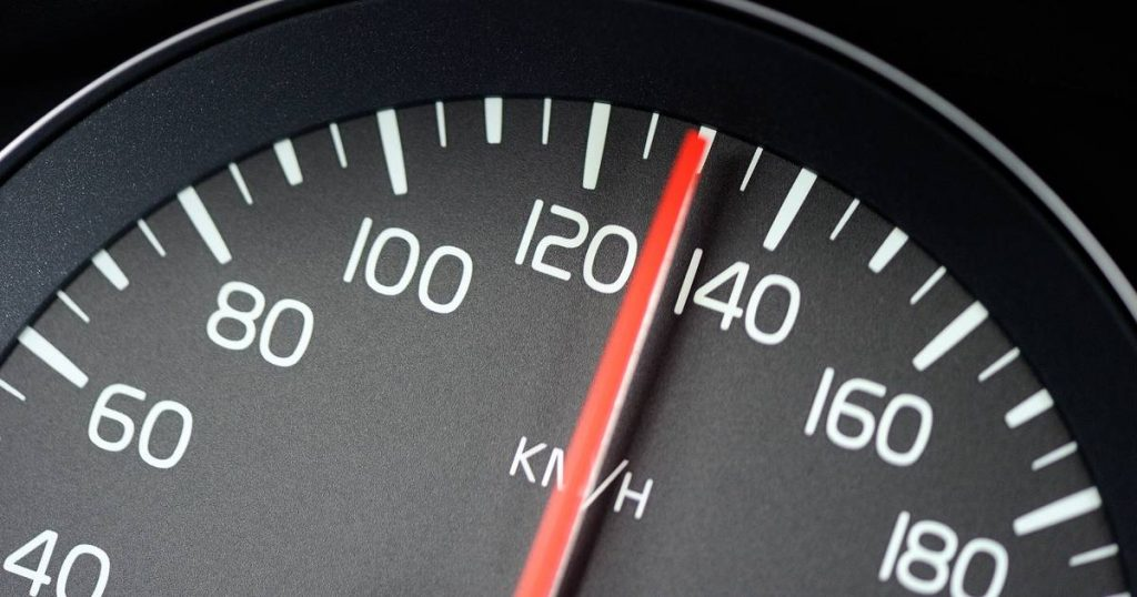 A speeding fine of 175,000 euros for a Swiss woman traveling 43 kilometers per hour at too fast a driver
