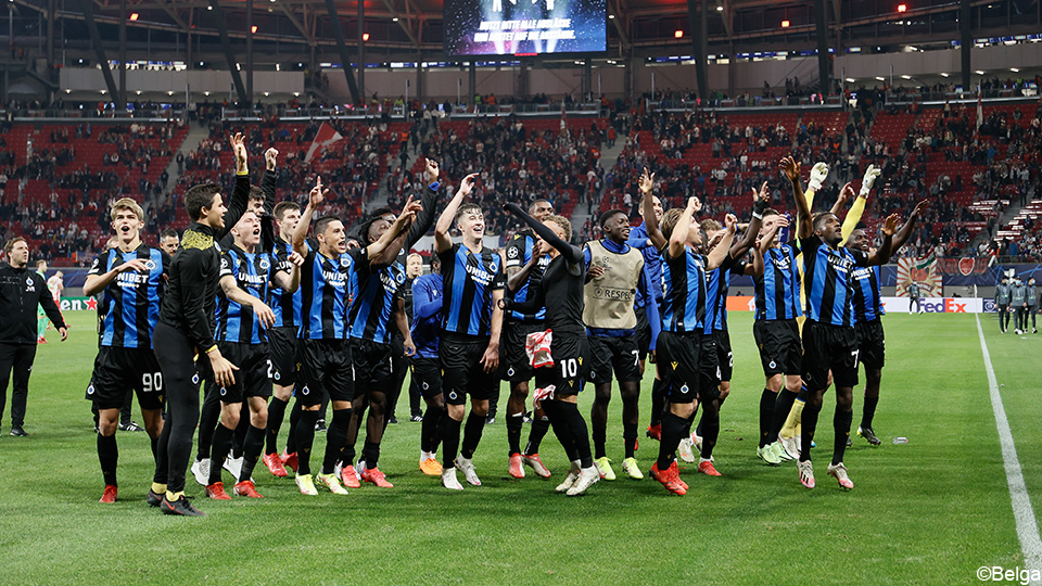 Brugge shines after CL win: 'Formidable and all Belgium can be proud' |  Champions League