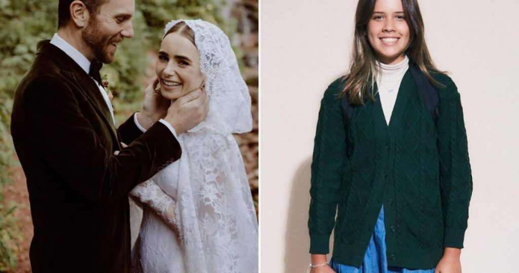 CELEB 24/7.  Lily Collins is getting married and which celebrity is this teenage daughter?     Famous
