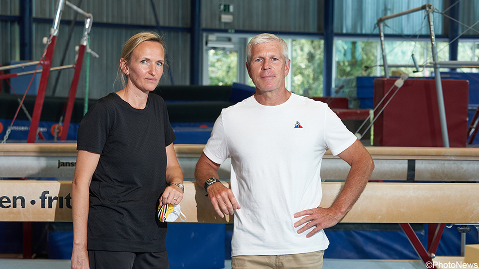 Coaches Marjorie Hills and Eve Kiefer stay with Jimvid: 'Back to modeling again'    Gymnastics