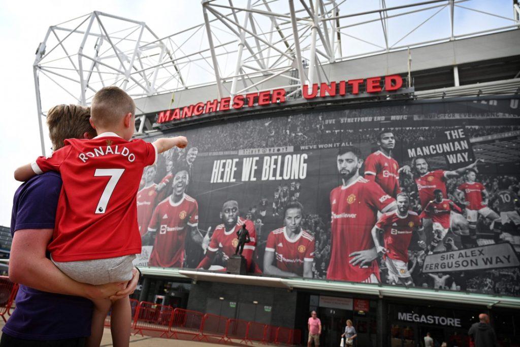 Cristiano Ronaldo viert mogelijk zaterdag zijn rentree bij Manchester United (maar Britten kunnen het dan niet zien)