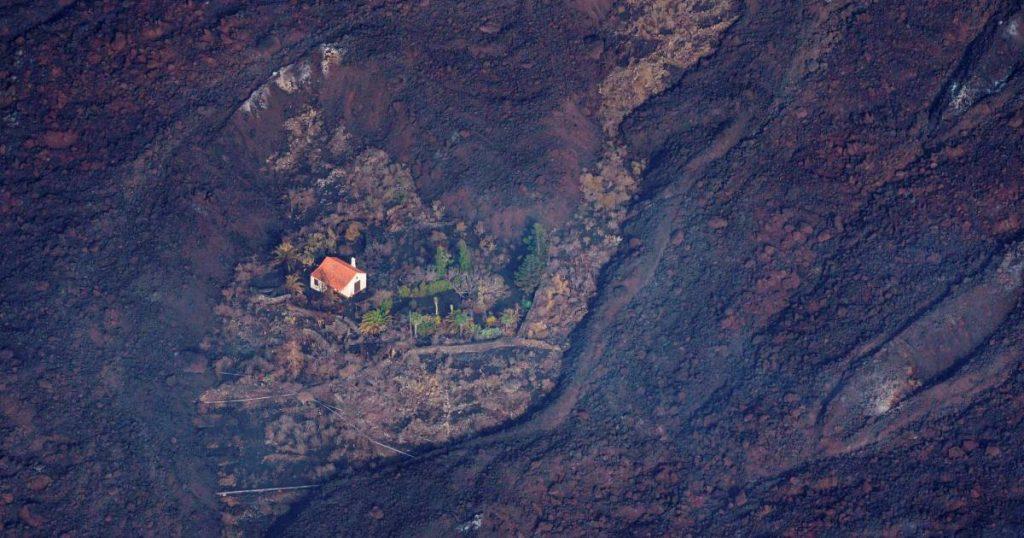 Dutch 'Wonderhuisje' that survived La Palma volcano spreads around the world |  Abroad