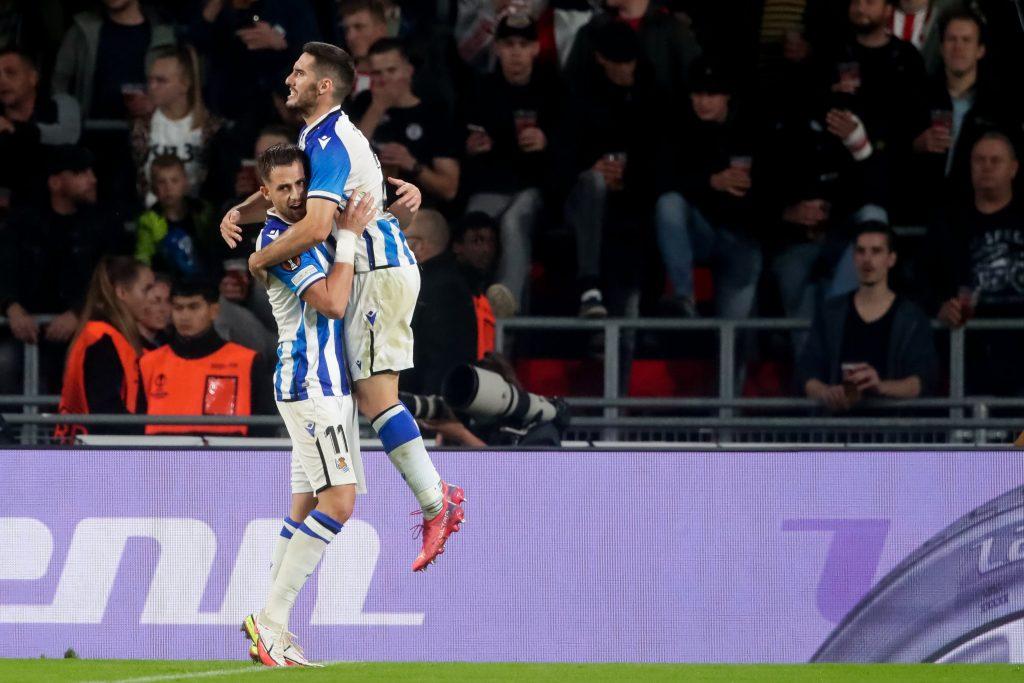 Januzaj Sociedad's three-pointer score couldn't help in Eindhoven    European League 2021/2022