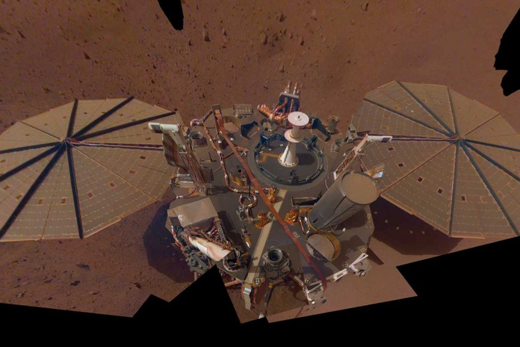 Large earthquake detected on Mars by Marslander InSight