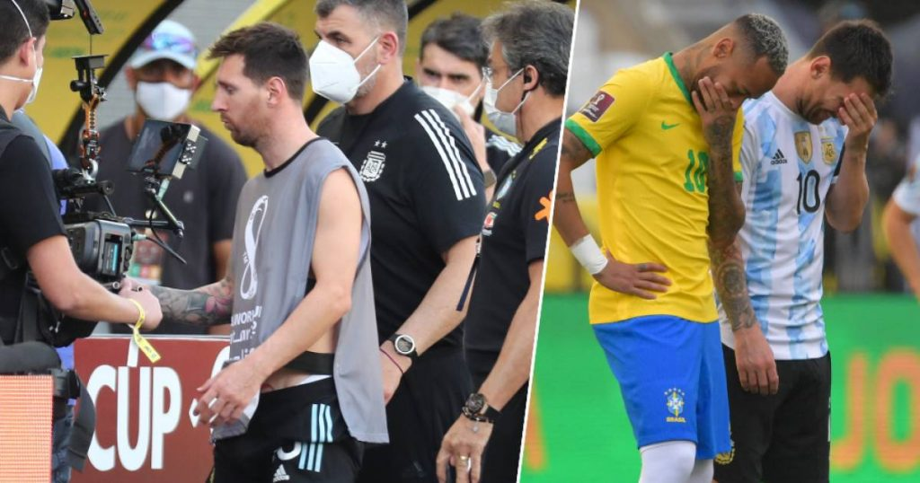 """Lionel Messi enters into a debate with the Brazilian authorities, but especially his clothes stand out: """"This is a circus"""" 