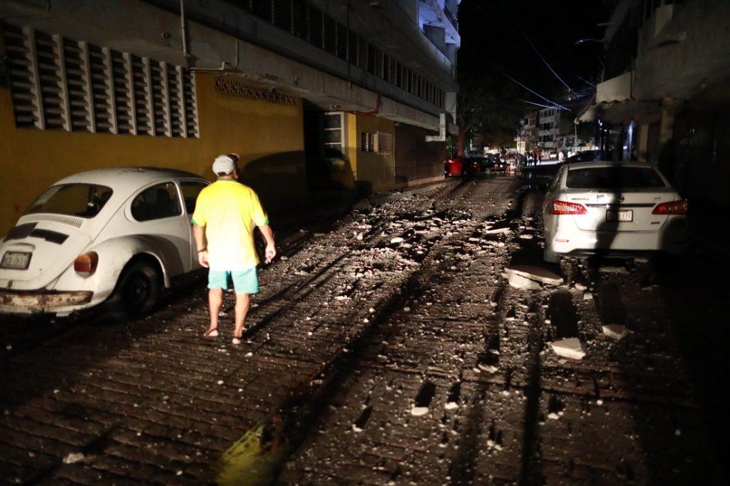 Magnitude 7.0 earthquake strikes Mexico