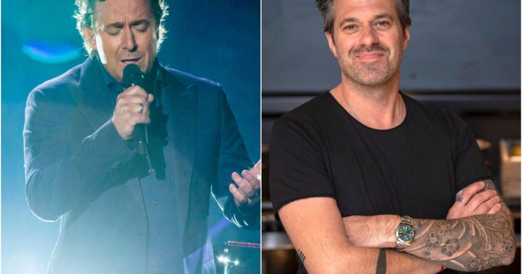 Marco Borsato and Sergio Hermann in Italy to record a new TV show |  TV