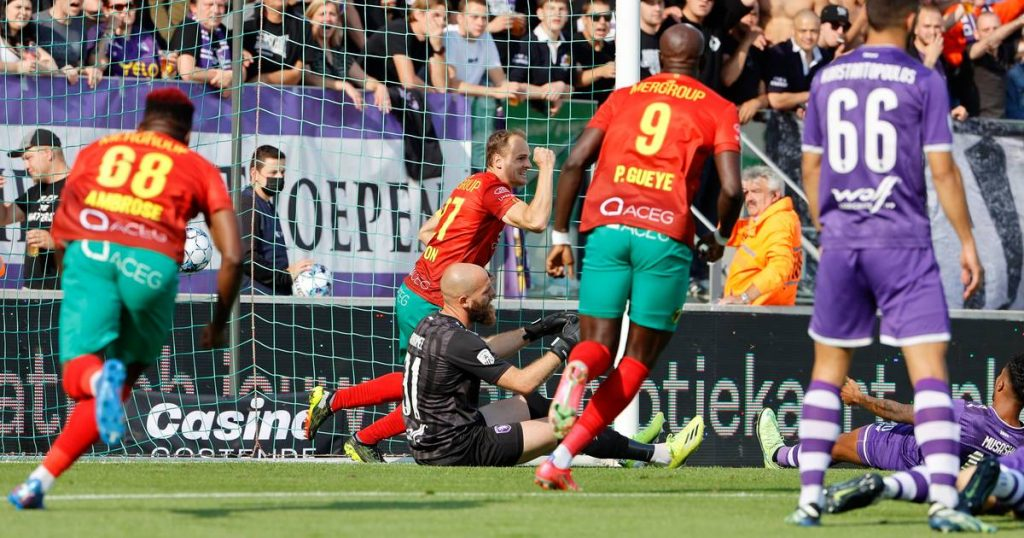 No trace of shock after Mace's sacking: KV Oostende pushes Berchot deeper into the hole with 3-1 win    Jupiler Pro League Round 8