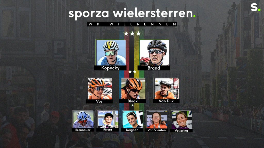 Our Superstars in the Women's World Championship on the Road: Top Candidates Kopecky and Brand    cycling world championship