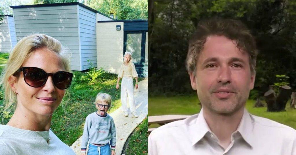 Showbits.  Annelien Coorevits comes to rest with her children and does Thomas Vanderveken enter politics?  |  showbiz
