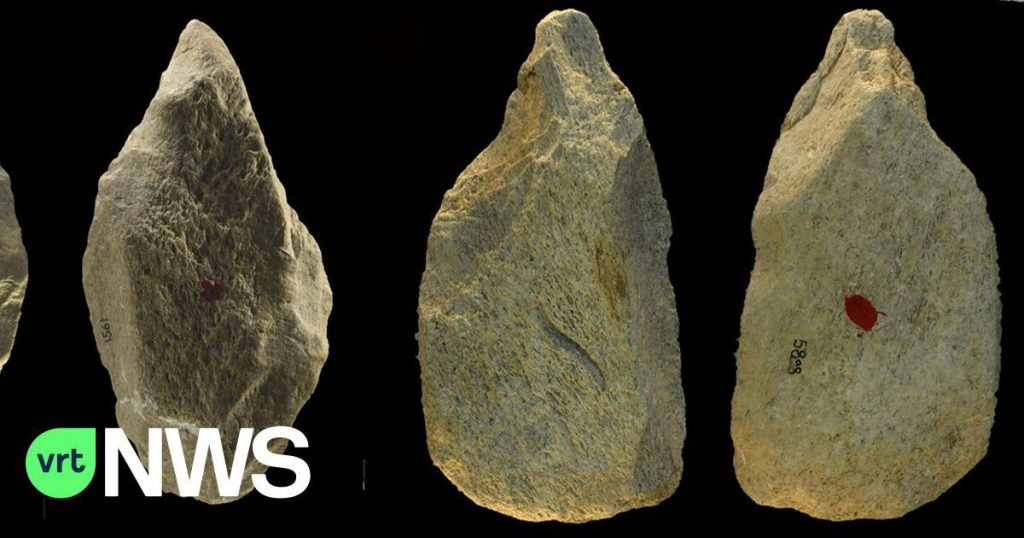 The ancients in Italy made an amazing set of tools from elephant bones