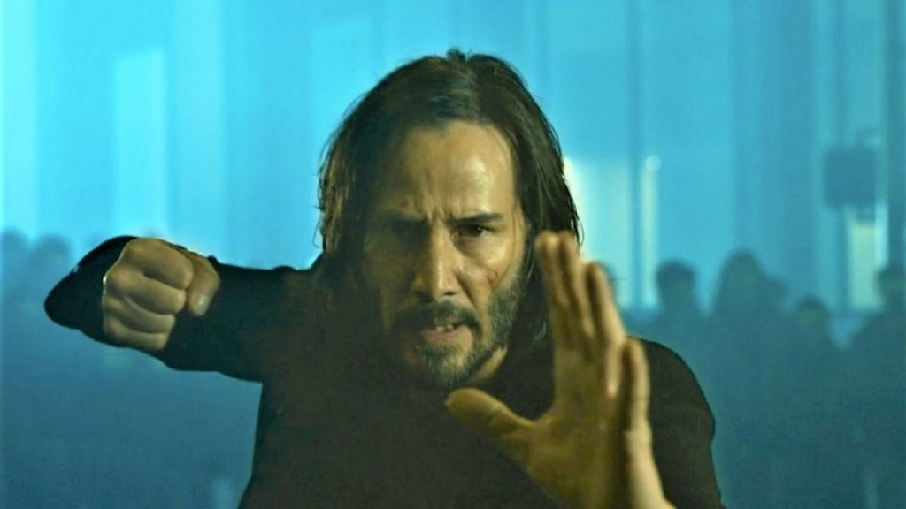 This is how Keanu Reeves reacted when he first saw The Matrix Resurrections