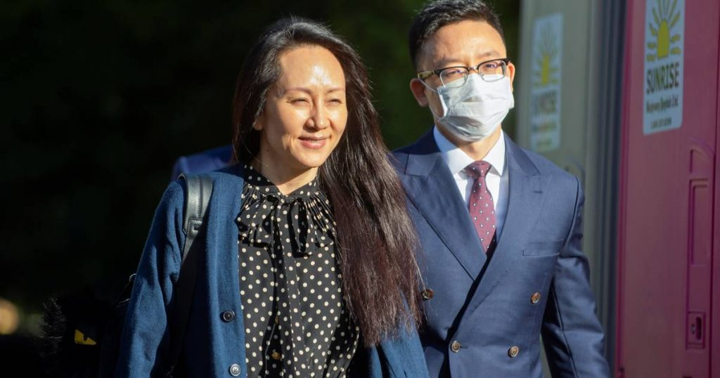 US sues Huawei CFO: Allowing a woman to return to China |  Abroad