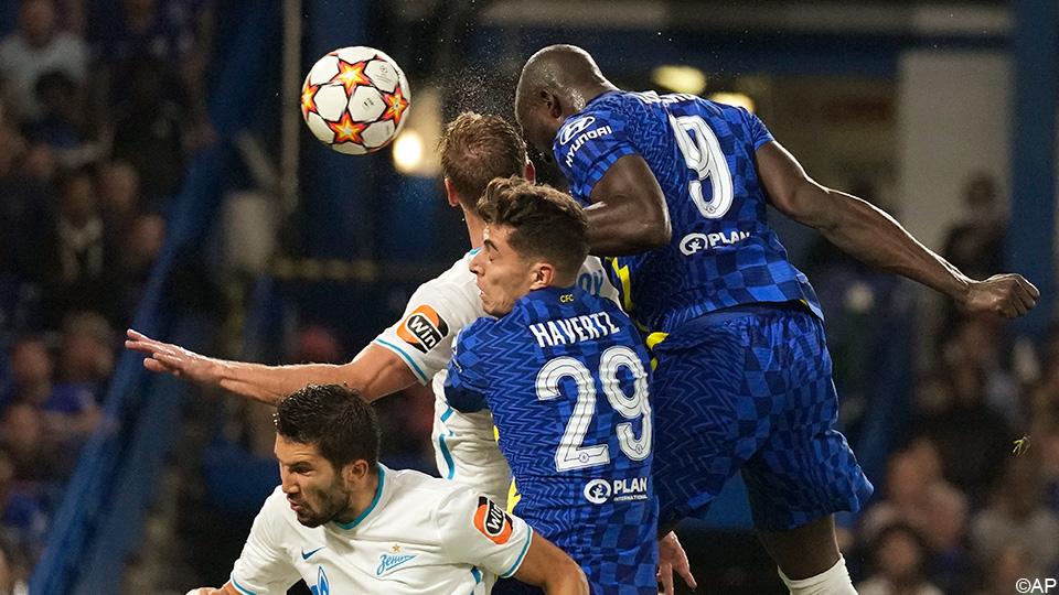 Video: Lukaku's goal against Zenit;  Tuchel: 'Romelo creates energy'    Champions League