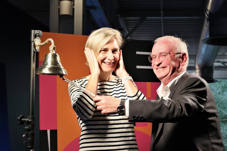 Minister Krevitz and Luke van den Brande have been allowed to advertise the exhibition