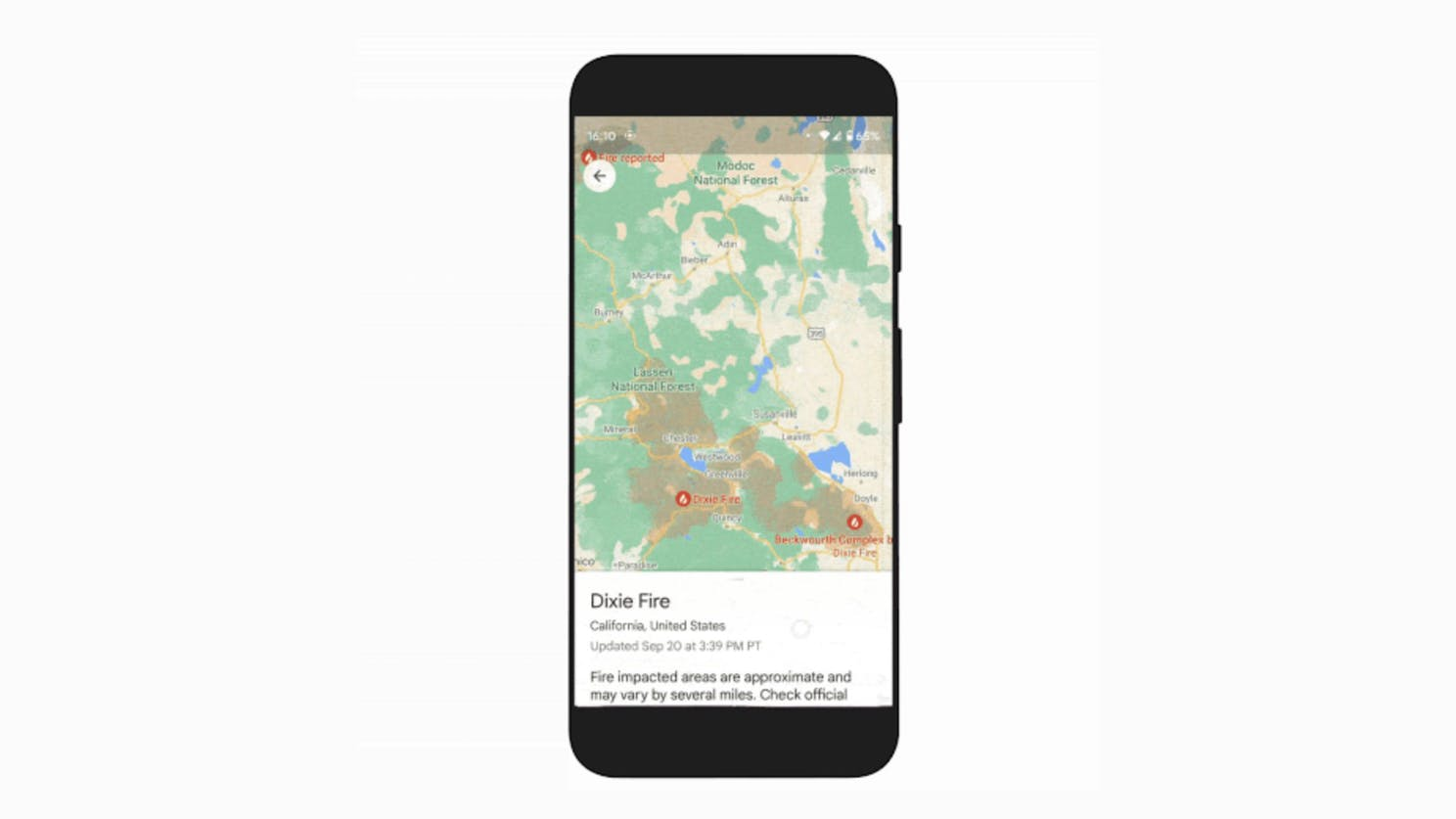 Everything you need to know about the new Google Maps Wildfire feature