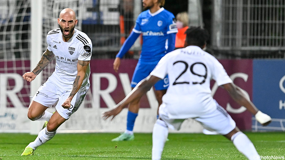 Racing Genk loses 3 points in a crazy slot against 10 Yupin players    Jupiler Pro League 2021/2022