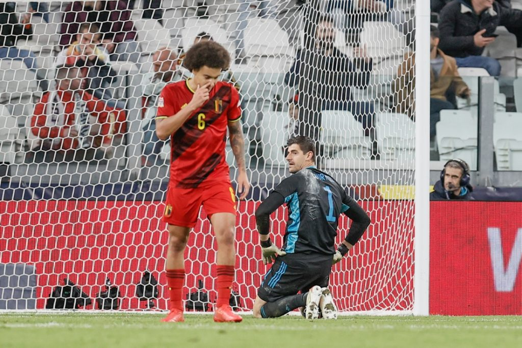 interactions.  Thibaut Courtois was disappointed after a dramatic second half...