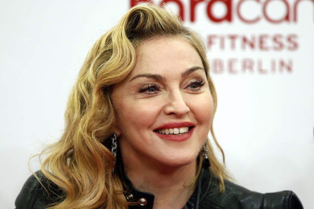 Madonna 'shocked' during talk show more than herself...