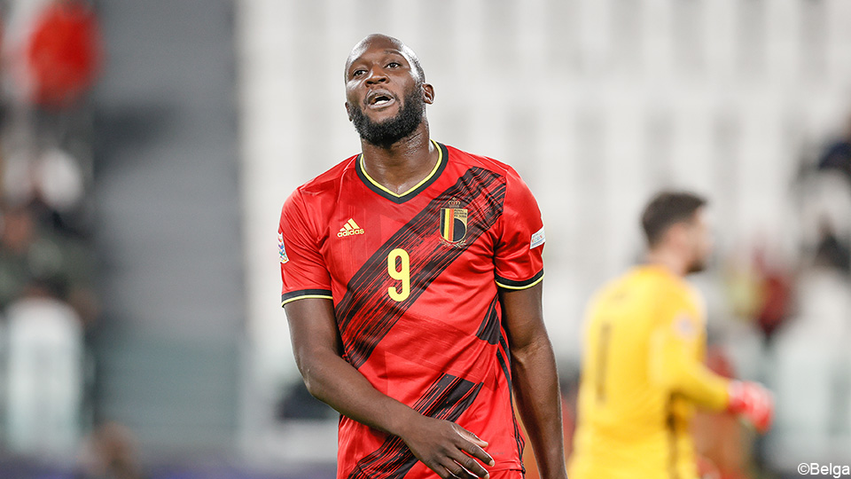 Another loser in the Red Devils?  Romelu Lukaku misses training  UEFA Nations League 2020/2021
