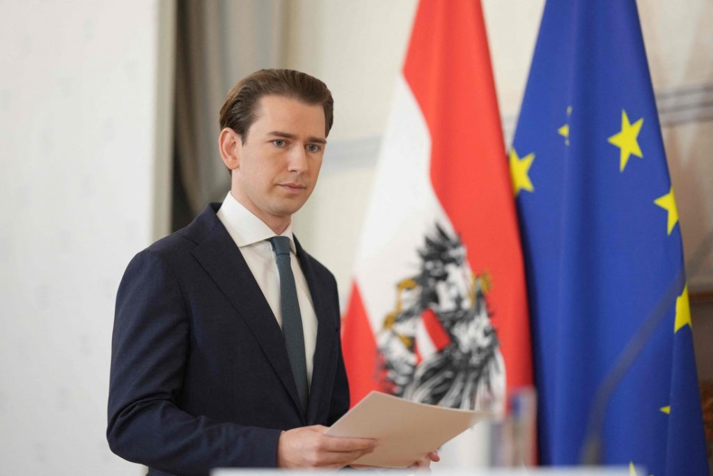 Sebastian Kurz resigns as Chancellor of Austria after...